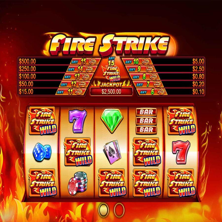 fire strike slot trumslot