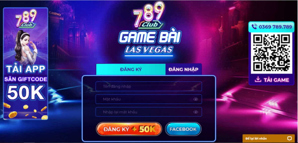 Cổng game 789 Club đổi thưởng trực tuyến