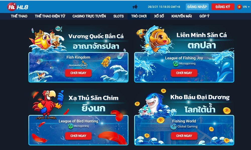 bắn cá online hl8vn