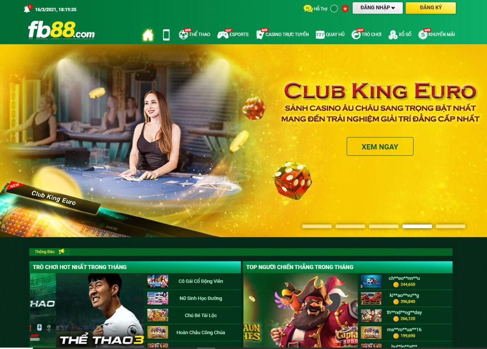 trang chủ FB88 casino