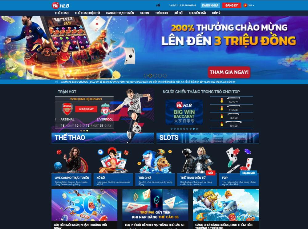 trang chủ HL8 Việt Nam