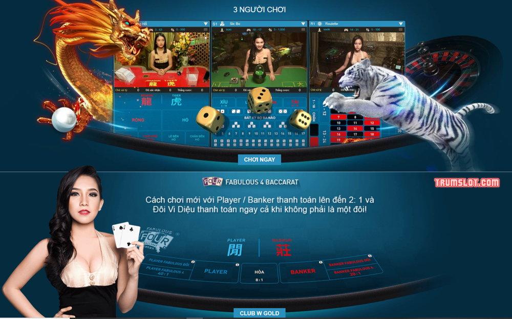 đánh bài baccarat W88 casino