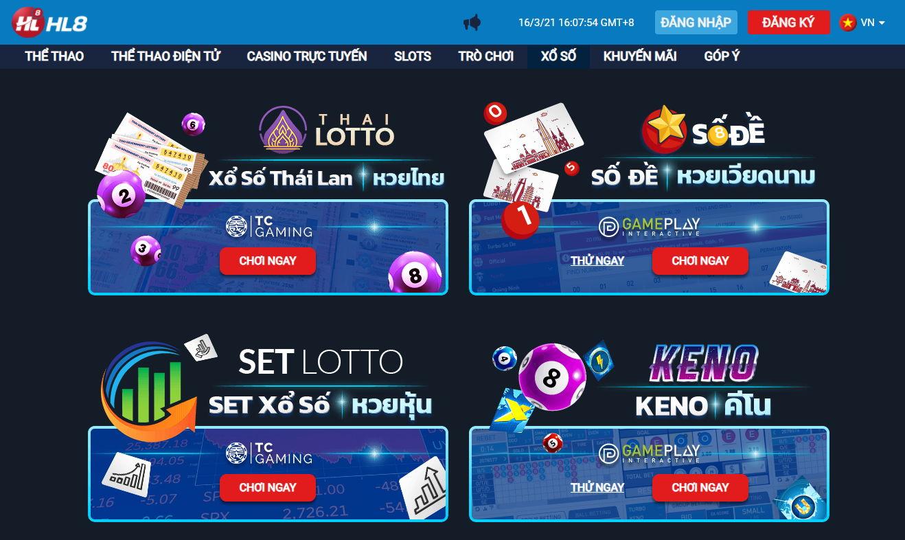 lô đề online HL8 Việt Nam