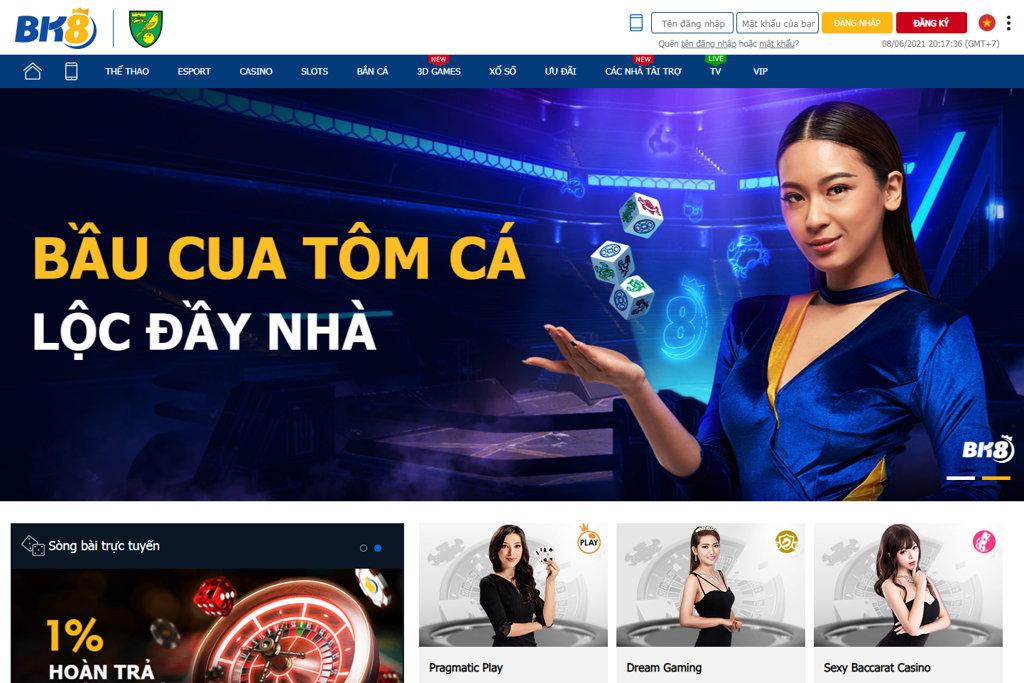 casino online BK8 Việt Nam