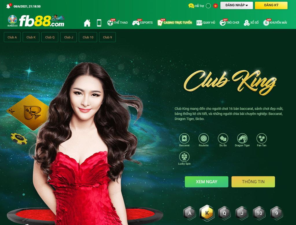 casino trực tuyến nhà cái FB88