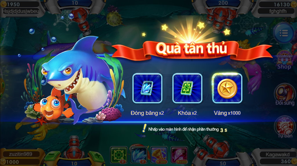game bắn cá H5 tặng 1000 vàng